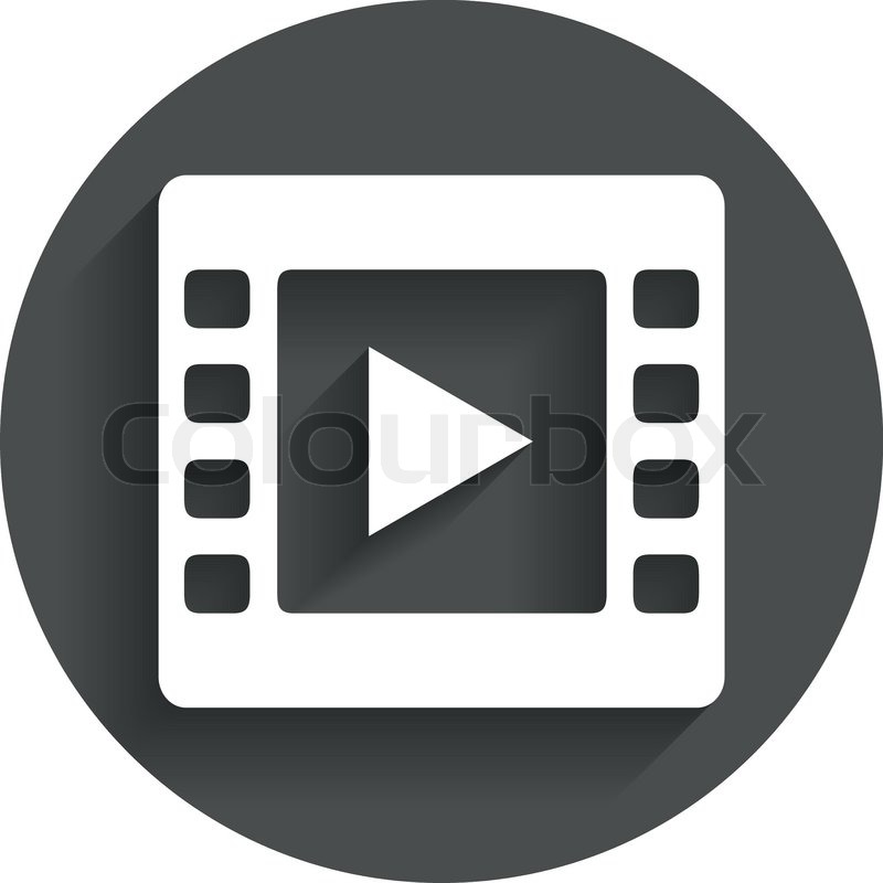 Video Zeichen Symbol. Video-Frame-Symbol. | Vektorgrafik | Colourbox