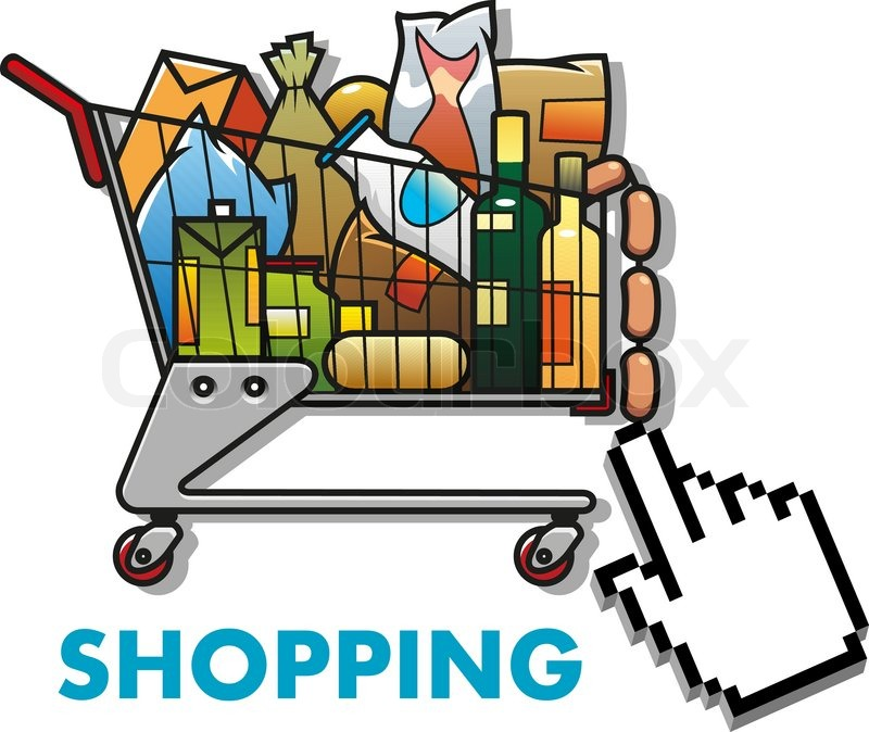 11079665-shopping-cart-with-groceries.jpg (800×674)