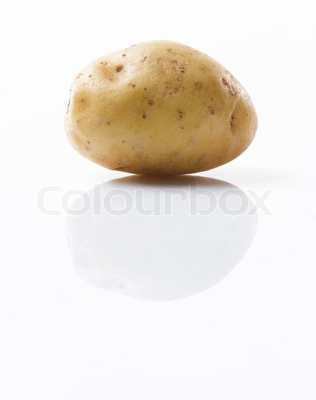 Stock image of 'Potato'