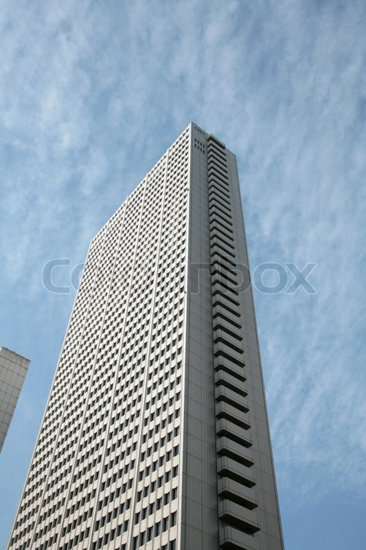 Street Scenes Tokyo Japan; modern buildings, stock photo