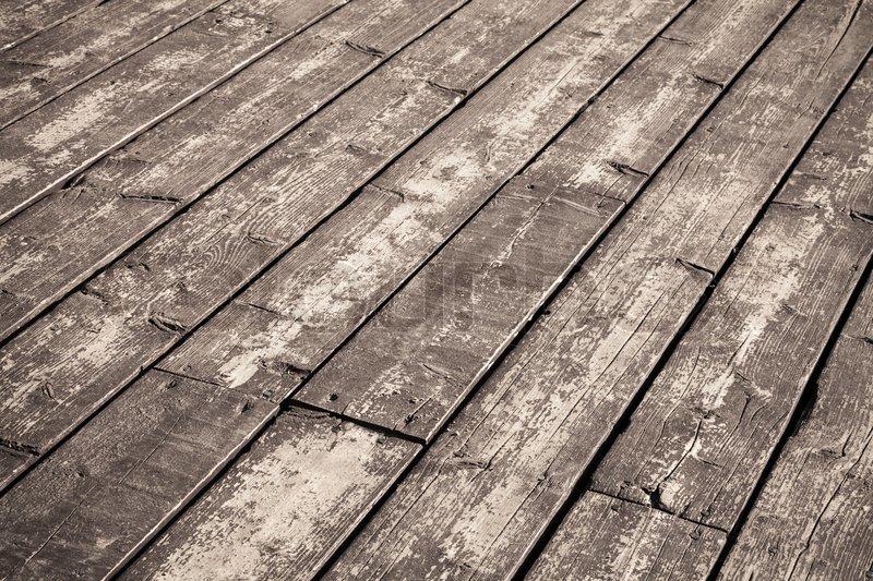 Brown wooden floor background, texture with perspective ...