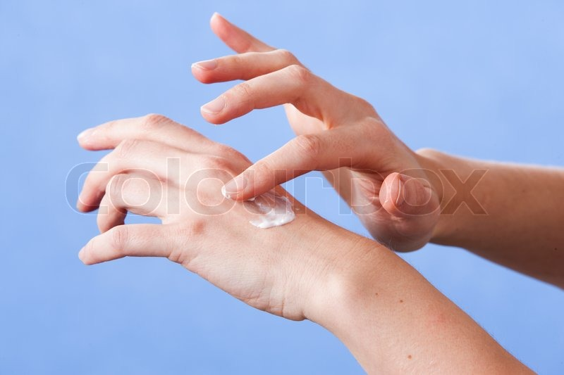 Stock image of 'Hand lotion'