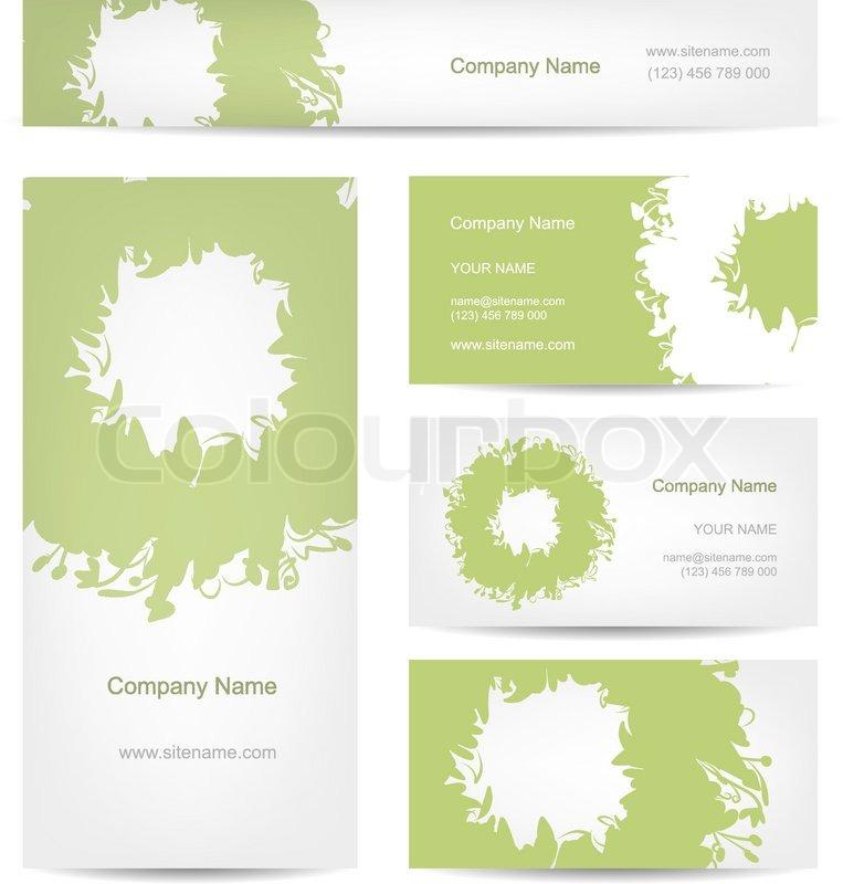 Dekor, rahmen, rand | Vektorgrafik | Colourbox