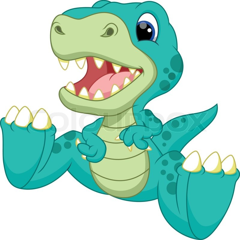 Image of: Baby Dinosaur Colourbox Cute Baby Dinosaur Cartoon Stock Vector Colourbox