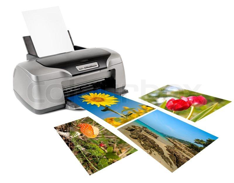 Лазерный принтер для печати на мелованной бумаге