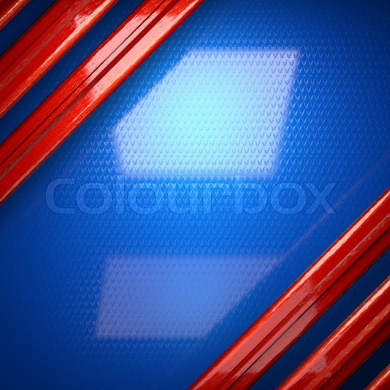Red And Blue Metal Background Stock Photo Colourbox