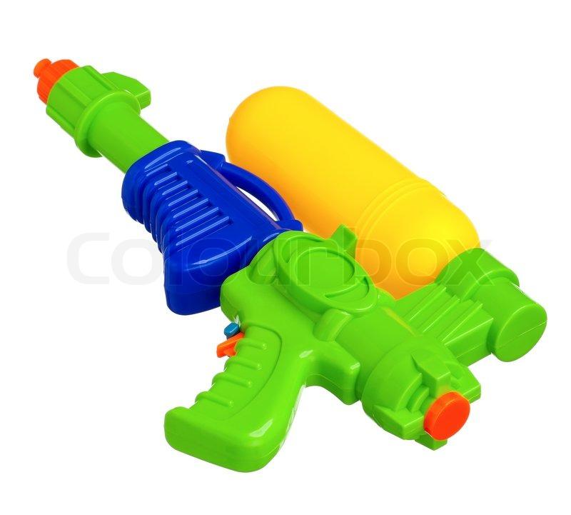 Sprøjte pistol kamp