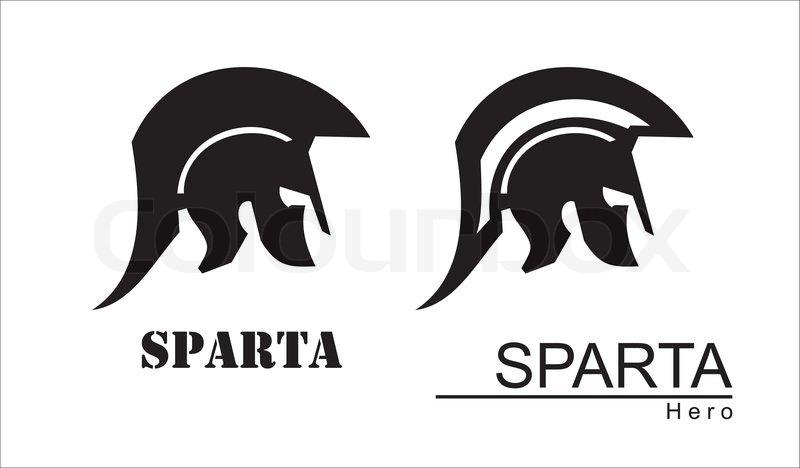 Trojan Warrior Historical Sparta Concept Icon Antique