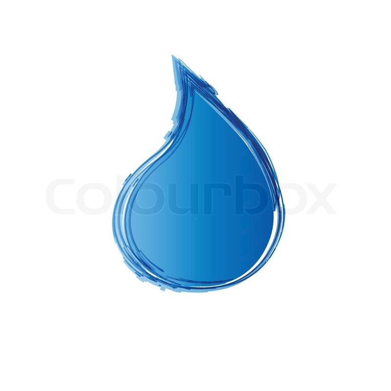 Water Design Vector Design Water Drop Vector