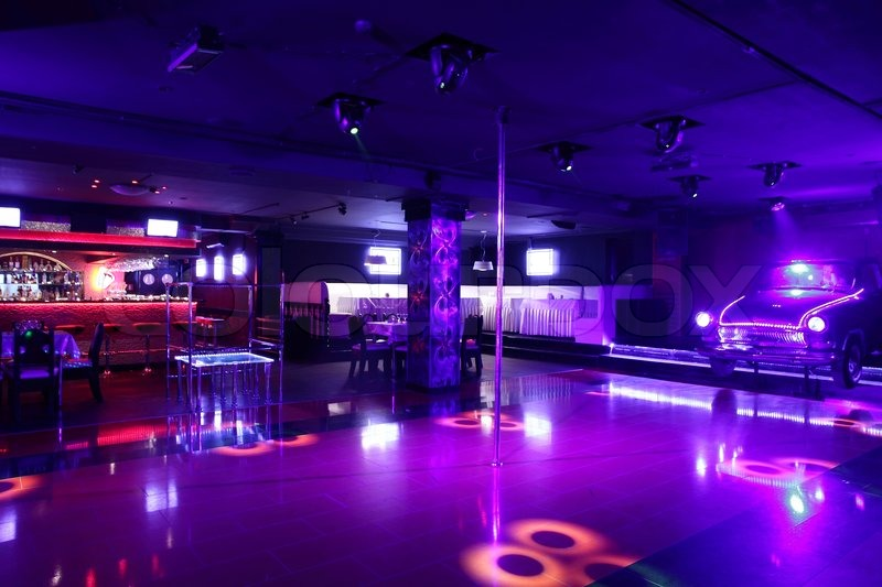 Colorful interior of bright and beautiful night club for 1234 get on the dance floor hd video download