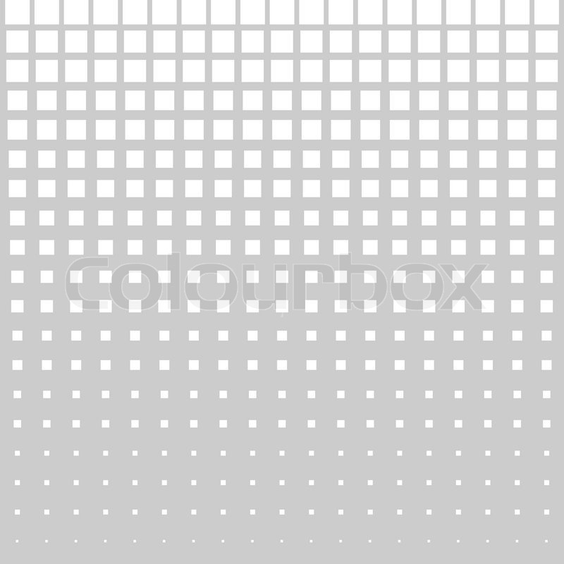 abstract halftone square dot