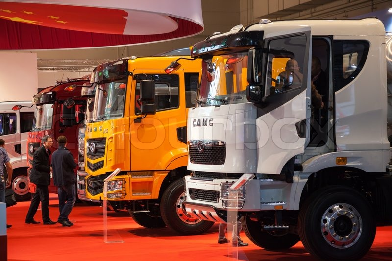 aefffefb1a Editorial image of  CAMC Chinese Trucks Manufacturer at the 65th IAA  Commercial Vehicles fair 2014