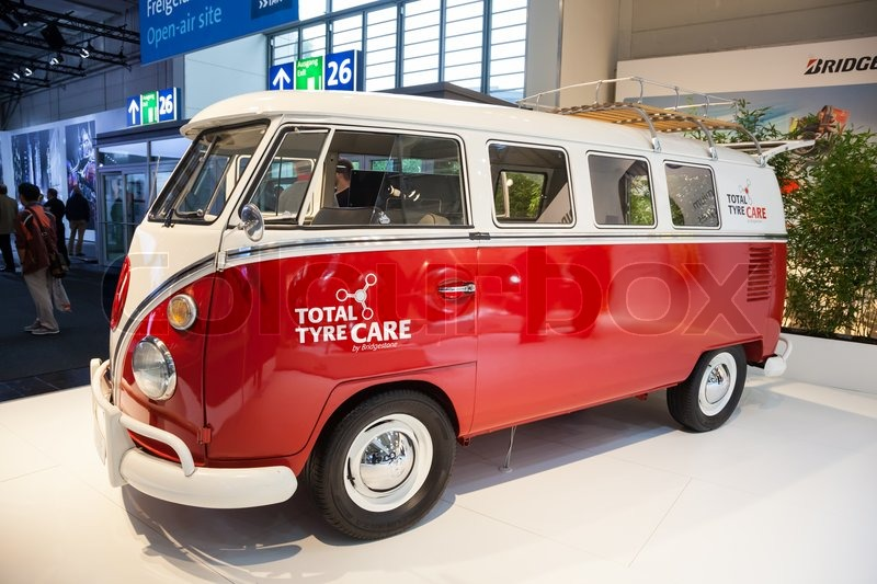 Historic vw t1 van at the 65th iaa commercial vehicles fair 2014 in historic vw t1 van at the 65th iaa commercial vehicles fair 2014 in hannover germany stock photo colourbox altavistaventures Image collections