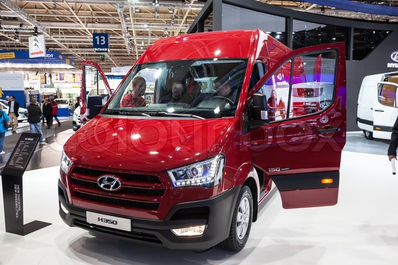 b7ba5db7f0 New Hyundai H350 Van at the 65th IAA ...
