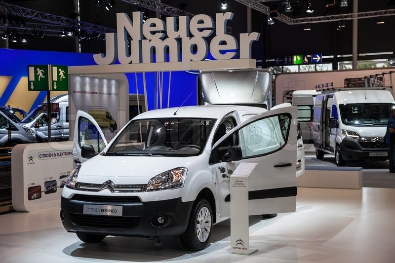 new citroen berlingo van at the 65th iaa commercial vehicles fair 2014 in hannover germany. Black Bedroom Furniture Sets. Home Design Ideas