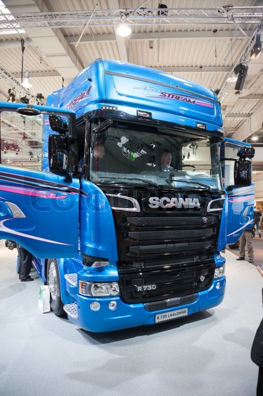 ea6abeea44 Scania R730 V8 truck at the 65th IAA ...