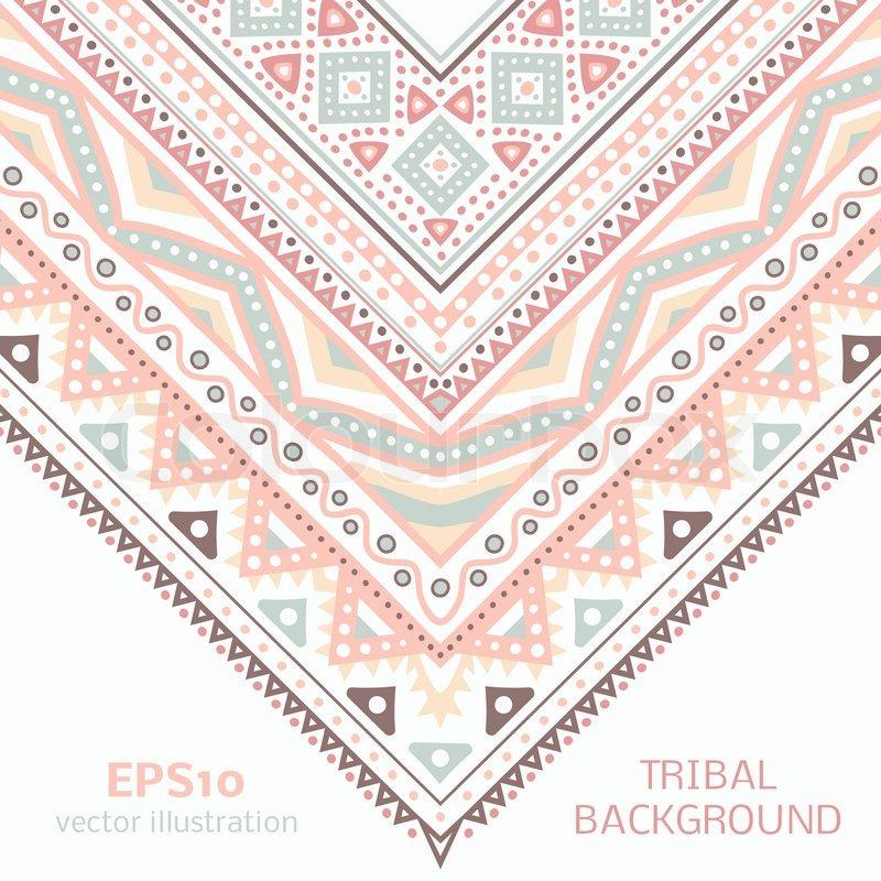Wallpaper Corners Patterned Wallpaper Ethnic Corner Pattern