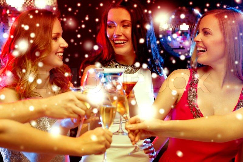Новый год с подругами картинки