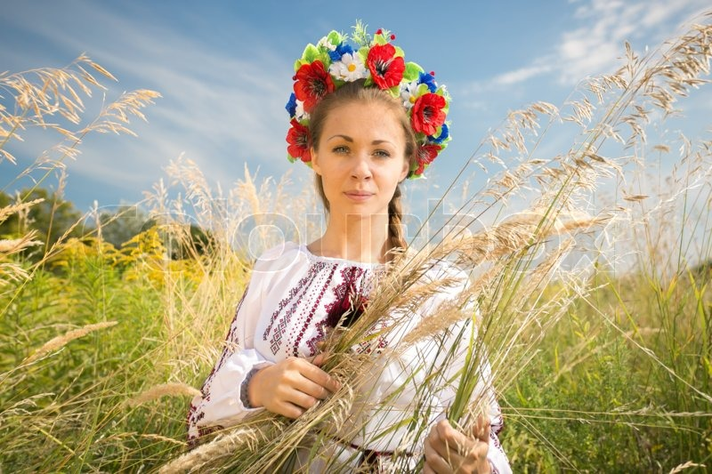 Woman And Ukraine Woman With