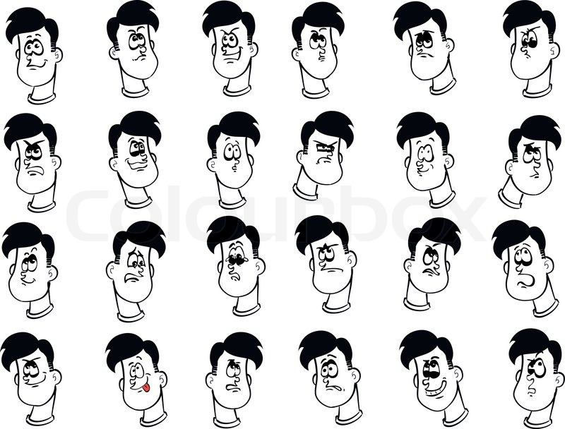 Cartoon Face Expressions