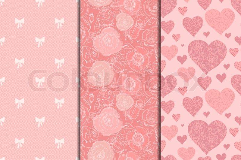 Dekoration Herz Farbe Stockfoto Colourbox