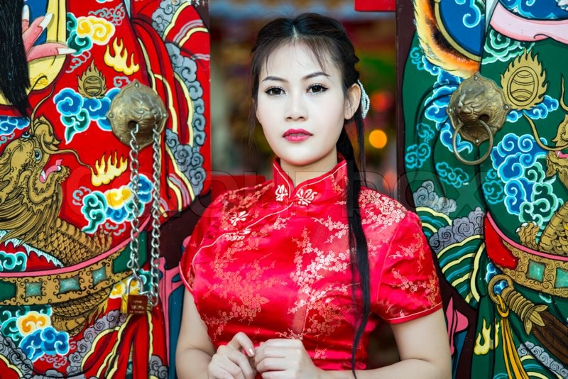 Traditional chinese girl