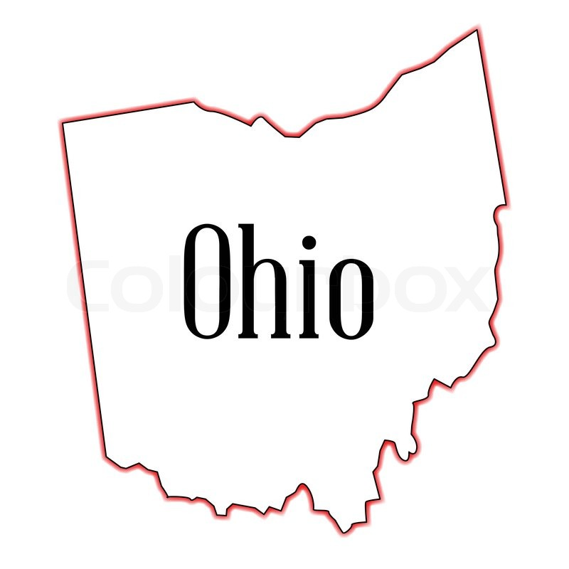 Image Result For Ohio Map United States