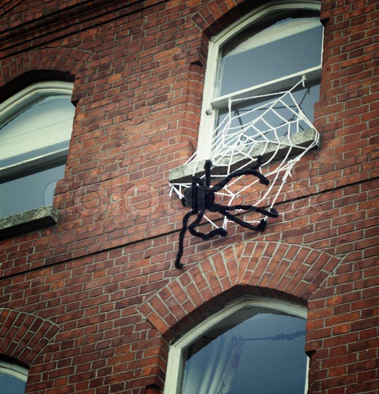 странице пауки на кирпичных зданиях фото зависимости