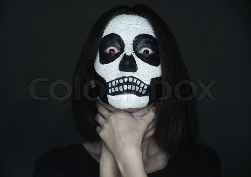 Grim Reaper Face Painting Step By Step