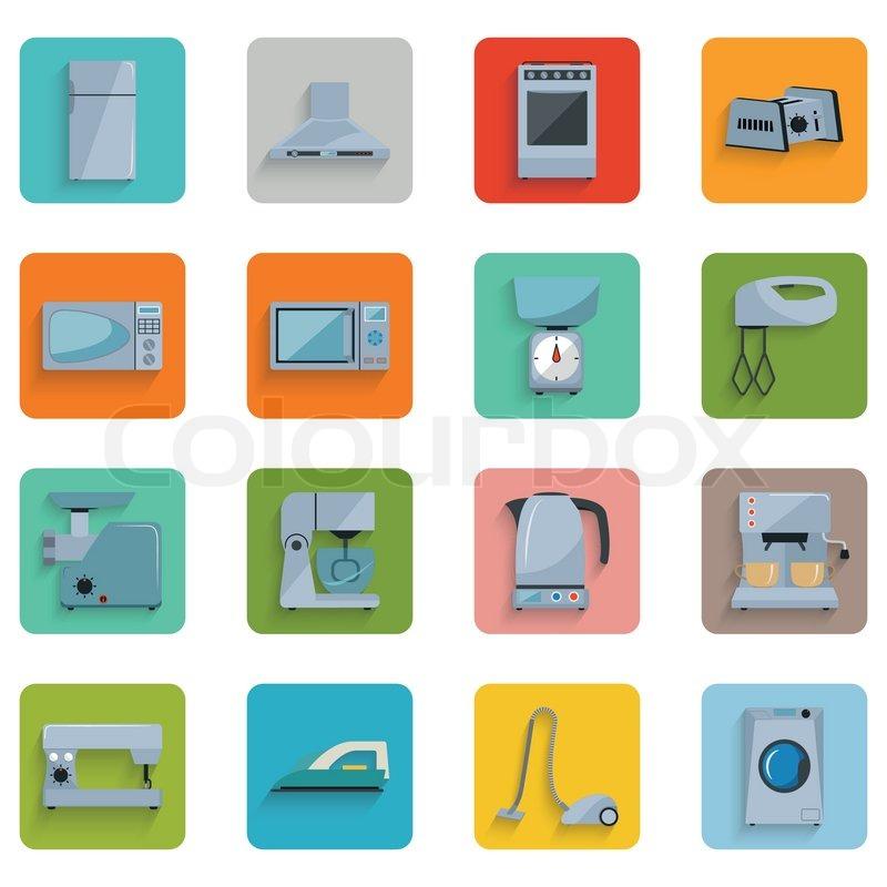 Design, piktogramm, haushalt  Vektorgrafik  Colourbox ~ Geschirrspülmaschine Zeichen