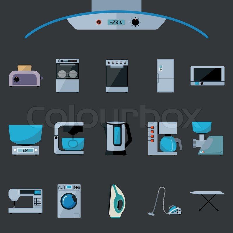 Design, backofen, piktogramm  Vektorgrafik  Colourbox ~ Geschirrspülmaschine Zeichen