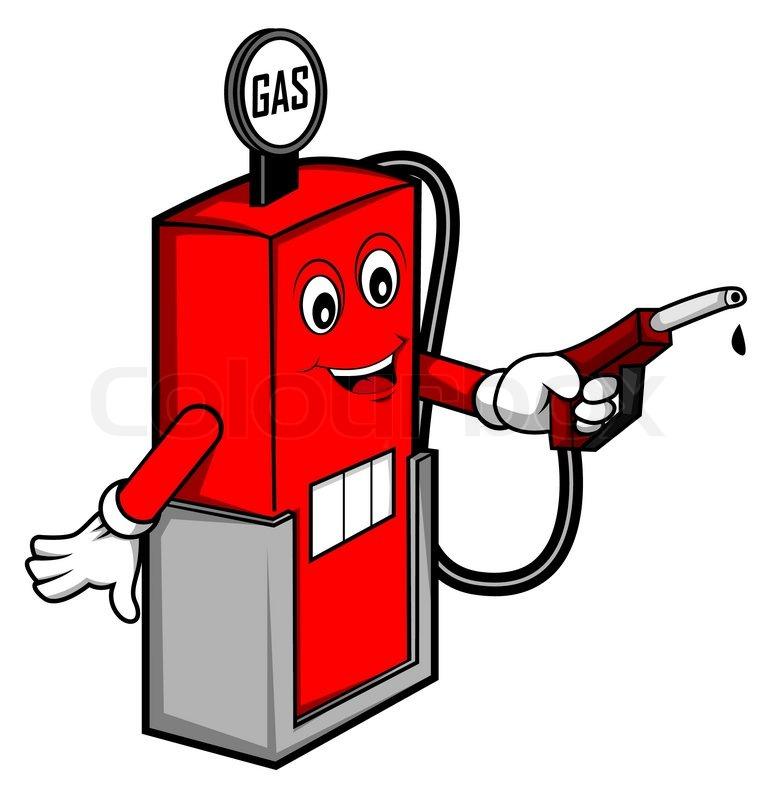 oil gas cartoon stock vector colourbox rh colourbox com cartoon gas station attendant cartoon gas station logo