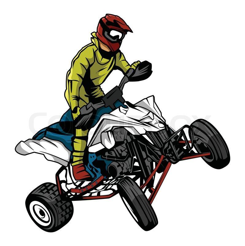 quad bike clipart - photo #11