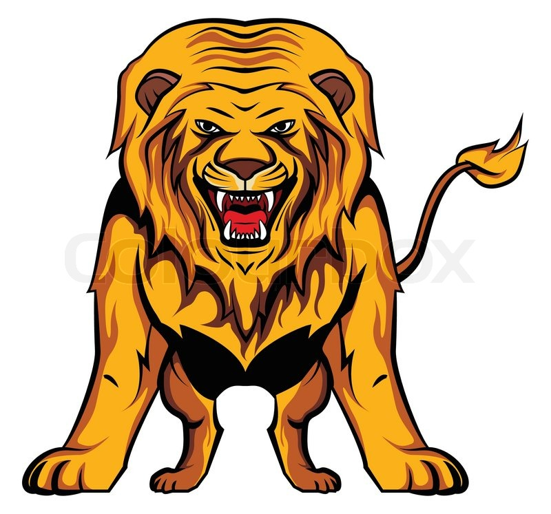 lion stock vector colourbox rh colourbox com lion vector free lion vector logo