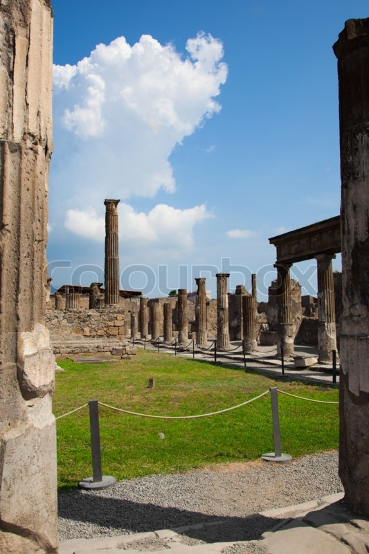 a history of the ancient roman city of pompeii