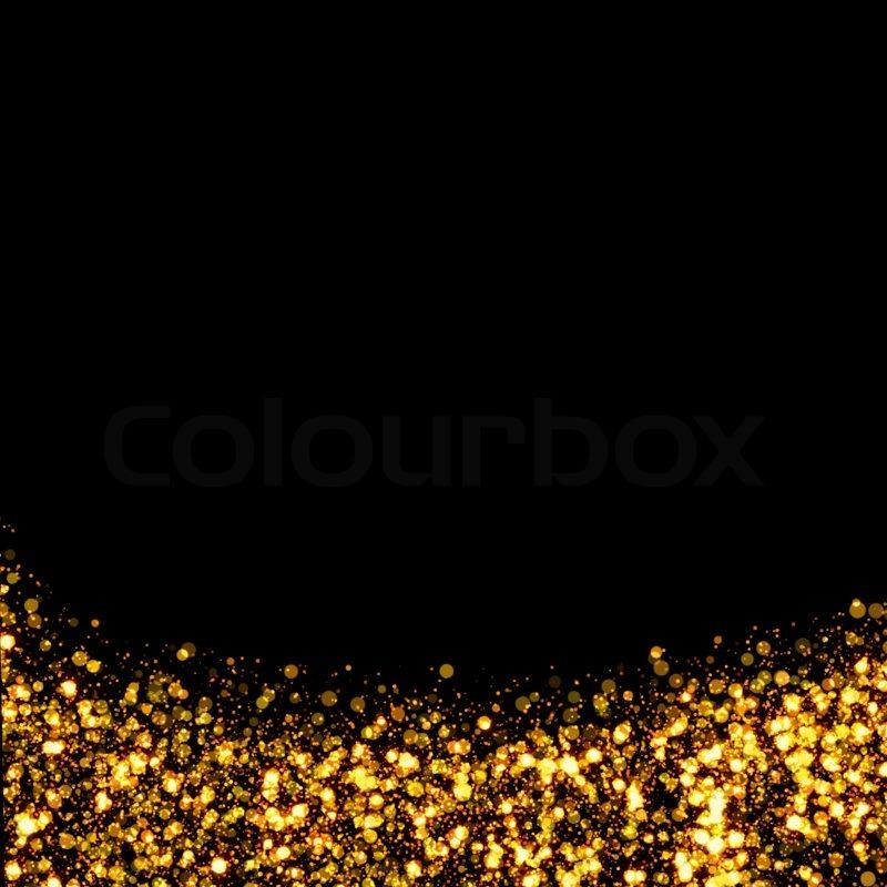 gold trail glitter background stock photo colourbox