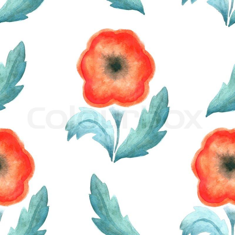 Fabric Flowers Pattern Design Pattern For Wallpaper Fabrics Screen Savers Vector