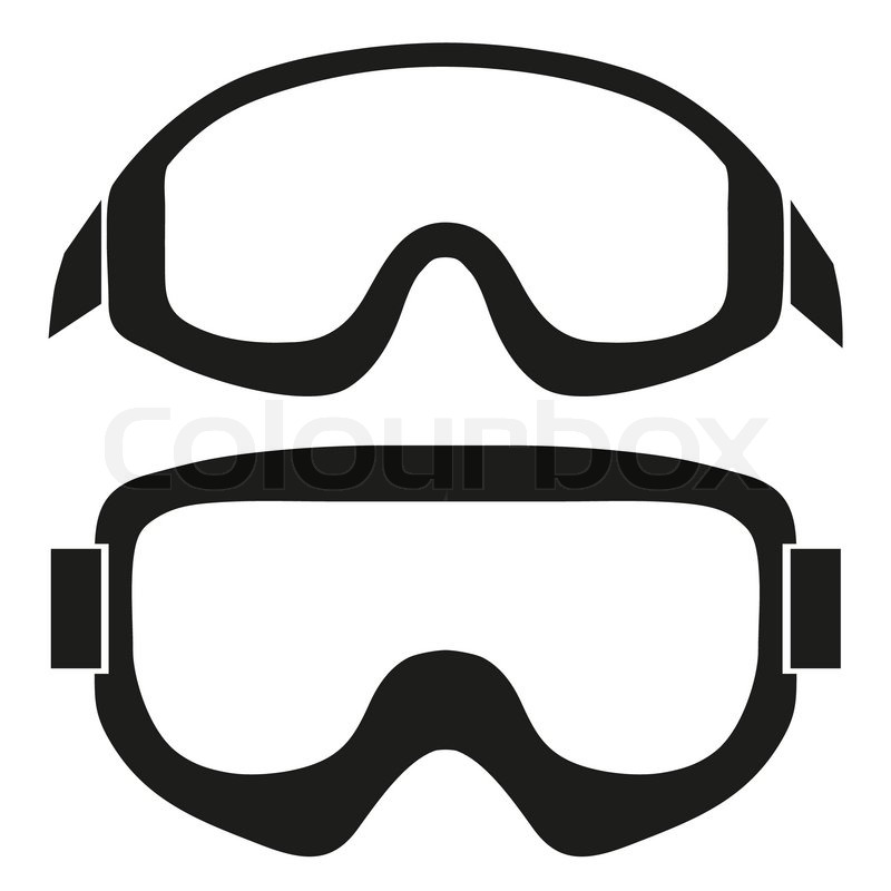 silhouette symbol of classic snowboard ski goggles simple dirt bike clip art free dirt bike clip art free images coloring