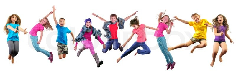 https://www.colourbox.com/preview/11401553-happy-children-exercising-and-jumping-over-white.jpg