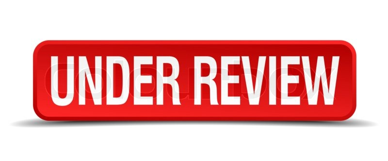 Under review red 3d square button isolated on white for 1 800 2 sell homes reviews