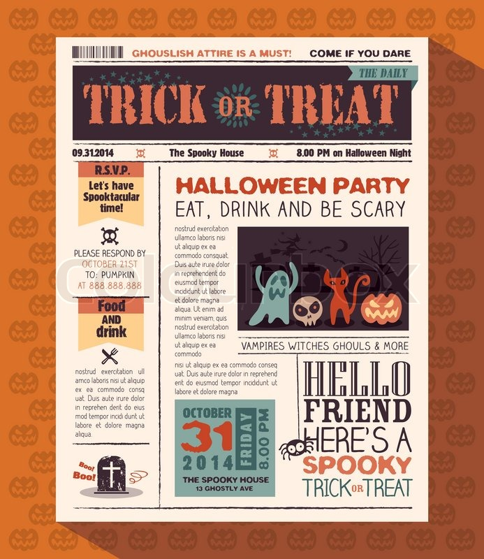 Halloween Invitation Free with great invitations design