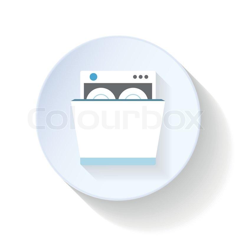flach app taste vektorgrafik colourbox. Black Bedroom Furniture Sets. Home Design Ideas