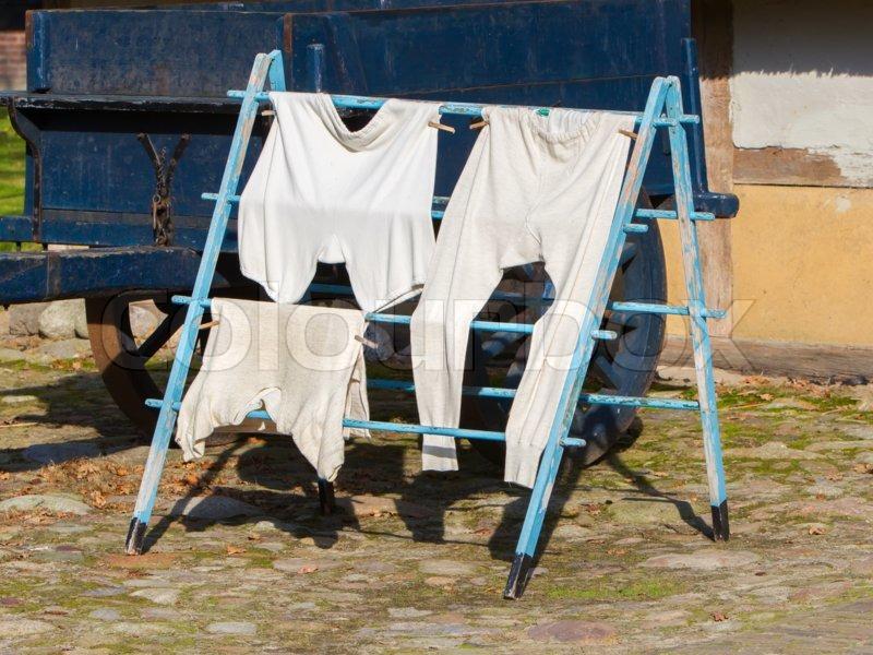 gammeldags undertøj