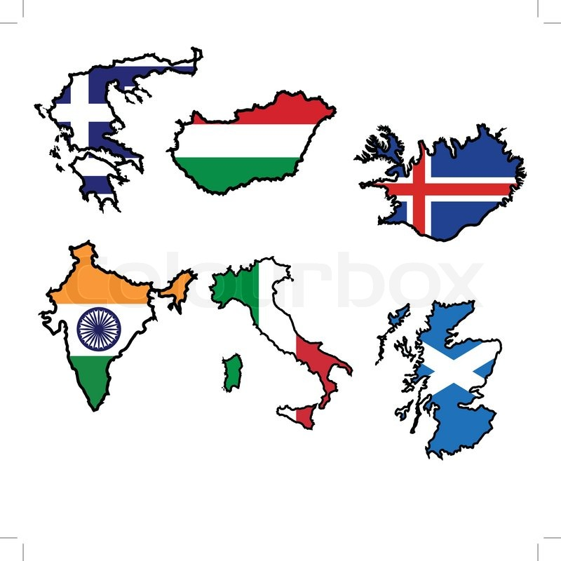 Illustration of flag in map of greecehungaryicelandindiaitalyscotland stock vector colourbox illustration of flag in map of greecehungaryicelandindiaitalyscotland vector gumiabroncs Gallery