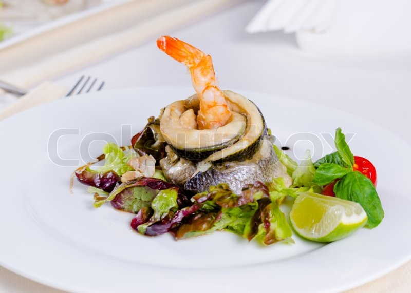 Gourmet mouthwatering specialty main entree recipe of fish for Gourmet fish recipes