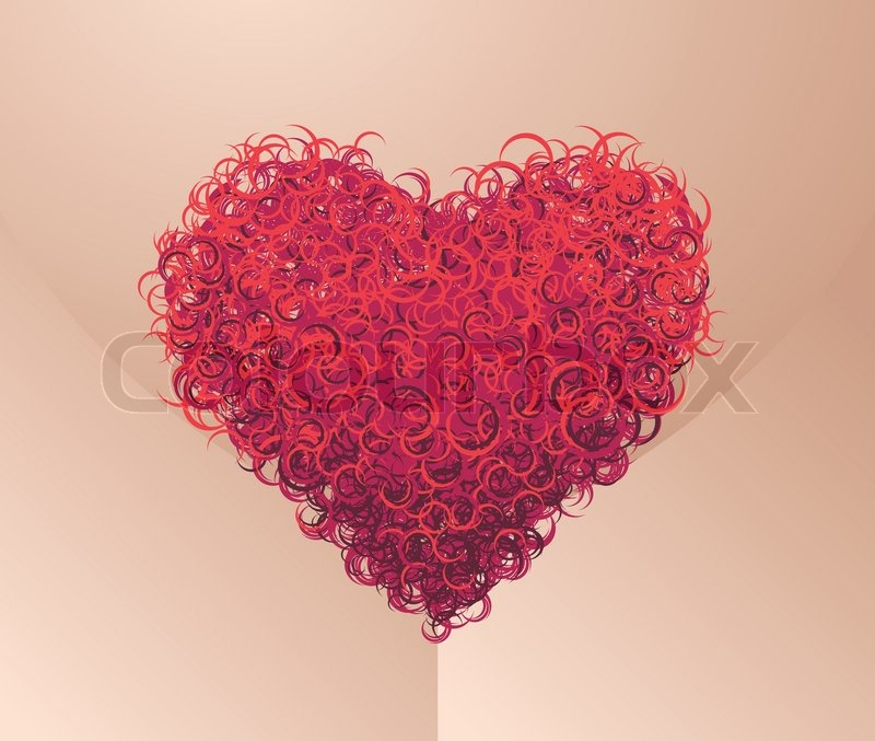 Pubes Heart Eps8 Cmyk Organized By Layers Global Colors Easy