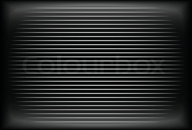 Old Tv Screen Analog Crt Screen Stock Vector Colourbox