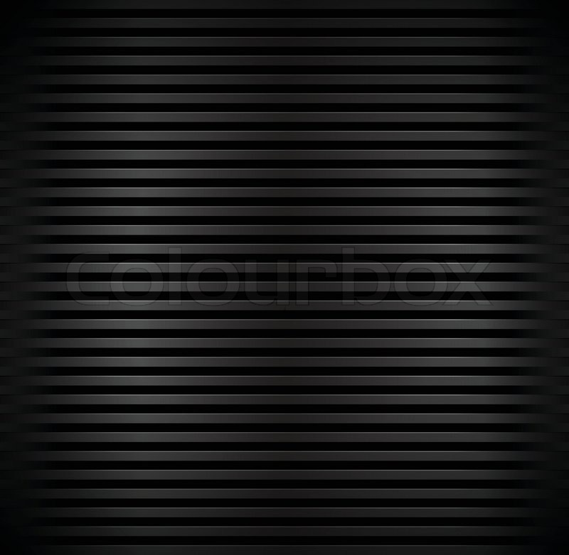 Bars Corrugated Black Background Dark Lined Texture