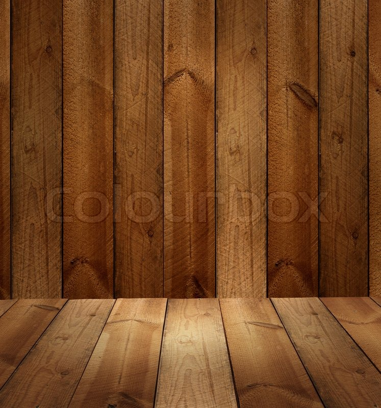 Product Photo Template Old Wood Plank Stock Photo