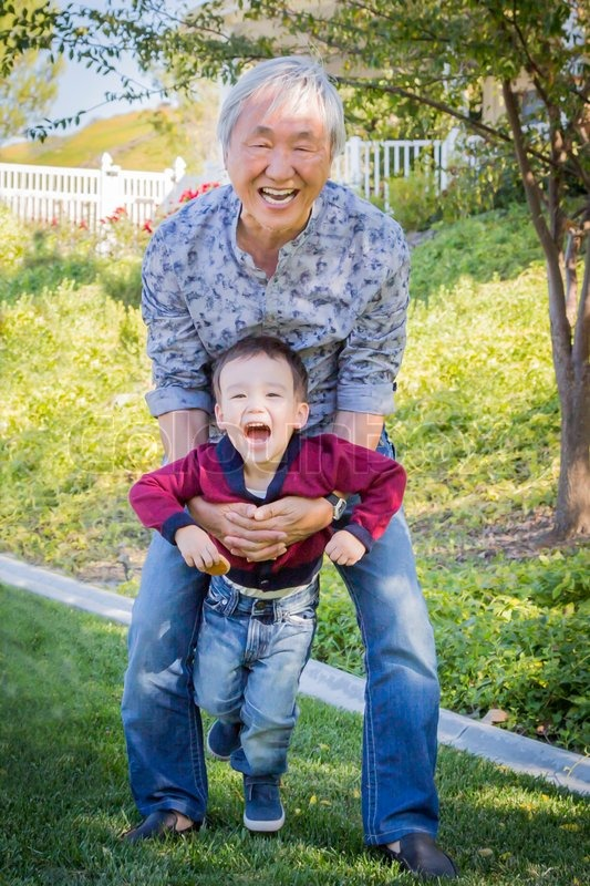 11536783-chinese-grandpa-having-fun-with